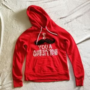 StreetwearSociety I Mustache You A Question Hoodie